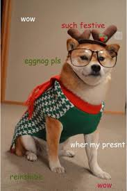 Doge Meme Christmas - we wow you a merry christmas doge know your meme