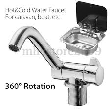 rv kitchen faucets 360 rotation cold water kitchen faucet tap foldable for