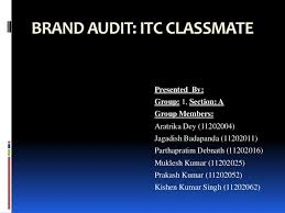 classmate registers brand audit itc classmate