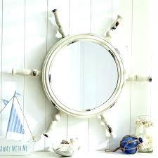 nautical mirror bathroom nautical mirrors bathroom wall mirrors large nautical wall mirror