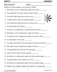 true or false printable geometry worksheet logic pinterest