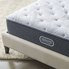 Simmons Natural Comfort Mattresses Mattresses And Boxspring Collections Crate And Barrel