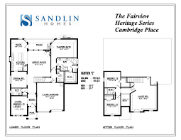 sandlin floorplans fairview u2013 sandlin homes