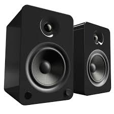 rca home theater system 130 watts kanto living yu6 2 way powered bookshelf speakers yu6gb b u0026h