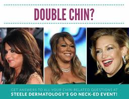 flattering hairstyles for double chins or sagging necks best anti aging treatments for neck chin and jawline