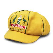 aussie baggy yellow cap u2013 aussie backyard cricket
