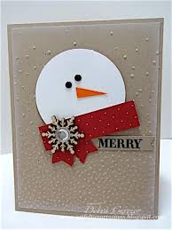 best 25 snowman cards ideas on pinterest handmade christmas