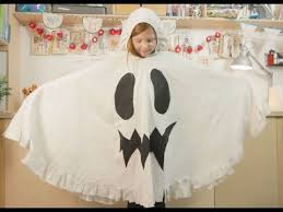 family crafts how to make a hallowe en ghost costume from an
