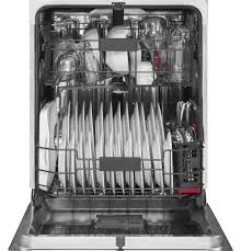 ge profile stainless steel interior dishwasher with hidden