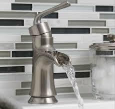 open spout bathroom faucet sanibel single post bath faucet artisan crafted home