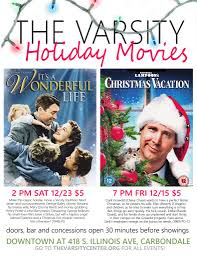 classic christmas movies the varsity holiday movies carbondale tourism