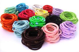 hair elastics 4mm hair elastic ties with plastic bead 4hep 1 93 mimumee