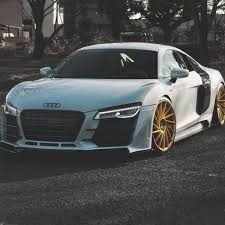 Audi R8 Gold - download audi r8 wallpapers to your cell phone audi black car