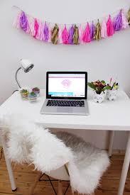 Schlafzimmer Deko Zum Selbermachen Diy Party Girlande Aus Seidenpapier Selber Machen Schreibtisch