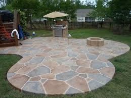 Flagstone Patio On Concrete by Fresh Laying A Flagstone Patio Diy 17573