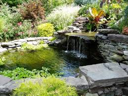 Backyard Waterfall Ideas by Backyard Waterfalls Ideas