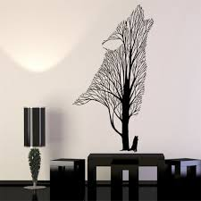 Modern Wall Stickers For Living Room Compare Prices On Wolf Wall Sticker Online Shopping Buy Low Price