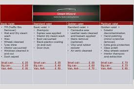 steam wizard mobile valeting services home facebook