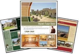 100 color flyers real estate sales brochure templates