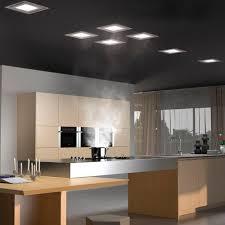 eclairage plafond cuisine hotte de cuisine de plafond avec éclairage intégré paradigma