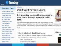 prepaid debit card loans online loans