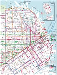 Sf Bart Map San Francisco Map Download Michigan Map