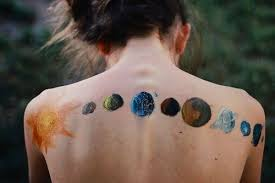 what does a of the moon phases along the spine quora