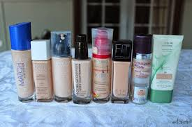 light coverage foundation drugstore the blushing brunettes pale drugstore foundation swatches