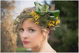 floral headdress flower headdress wedding search weddings yellow