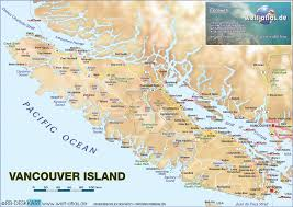 Canada Map by Map Of Vancouver Island Canada Map In The Atlas Of The World