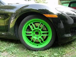 lime green bentley fs wtt 17x8 45 limited edition lime green enkei rpf1 rx8club com