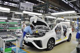 toyota dealer japan toyota starts building mirai in japan shares