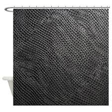 Chain Mail Curtain Cafepress Worn Silver Chainmail Tile 197 Shower