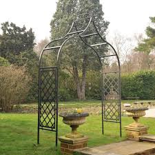 metal garden trellis beautiful in itself u2013 outdoor decorations