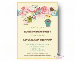 housewarming party invitations birdhouse housewarming party invitation bird housewarming