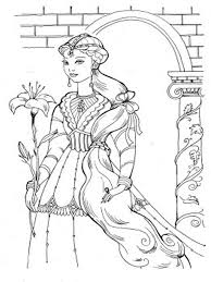 barbie and the diamond castle coloring pages printable coloring