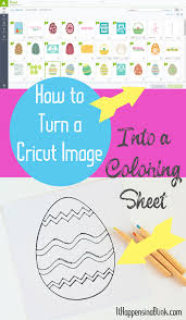 turning pictures into coloring pages to use a cricut image to make a coloring page