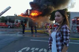 Fire Girl Meme - image 62188 disaster girl know your meme