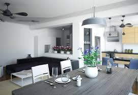 wonderful image of modern dining room lighting round image of