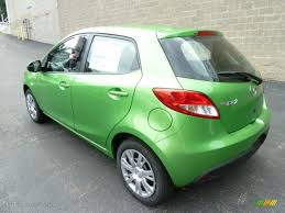 mazda 2 sport 2011 spirited green metallic mazda mazda2 sport 54418376 photo 2