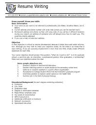 resume for college application objectives student objective for resume college student sle resume