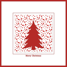 free illustration christmas card christmas map red free