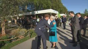 where does prince harry live prince harry shows the queen around chelsea flower show youtube