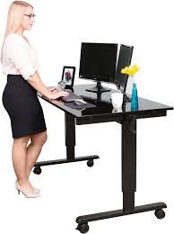 Schreibtisch 150 Cm Breit Höhenverstellbarer Schreibtisch Zum Sitzen Und Stehen Expertentesten