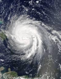 satellite view of post tropical cyclone jose fading nasa