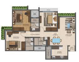 the wadhwa platina by the wadhwa group 2 5 3 bhk flats for sale