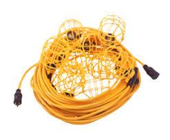 temporary job site lighting job site string lights azcollab for