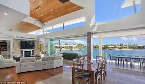 new home sources anthony bell kelly landry buy 10 3m waterfront home noosa daily