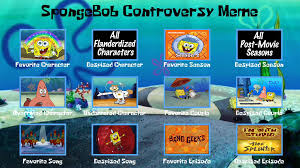 Spongebob Squarepants Meme - spongebob squarepants controversy meme by media lover25 on deviantart
