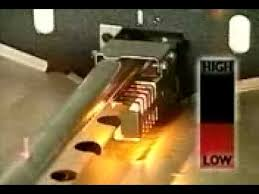 whirlpool oven pilot light gas ignition operation youtube